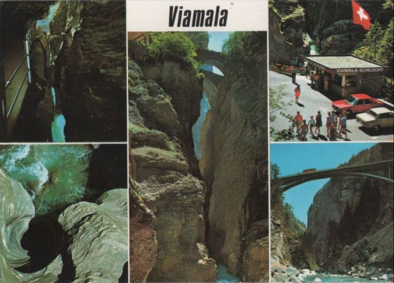 Schweiz - Schweiz - Viamala - bei Thusis - ca. 1985