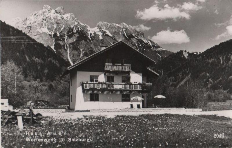 Österreich - Österreich - Werfenweng - Haus Auer - ca. 1960