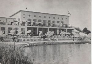 Niederlande - Niederlande - Loon op Zand-Kaatsheuvel - Cafe Restaurant - ca. 1965