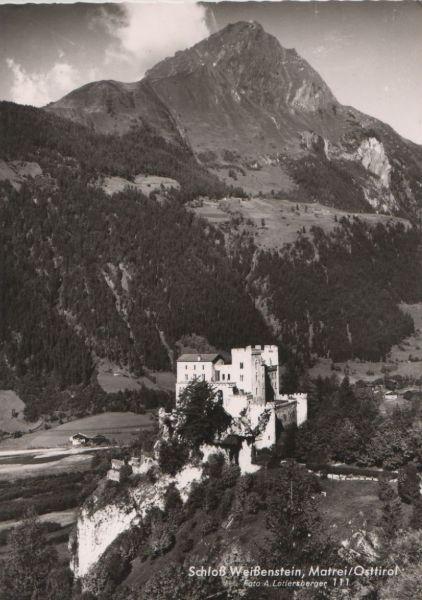Österreich - Österreich - Matrei in Osttirol - Schloß Weißenstein - ca. 1960