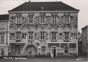 Österreich - Österreich - Retz - Sgraffitohaus - ca. 1965