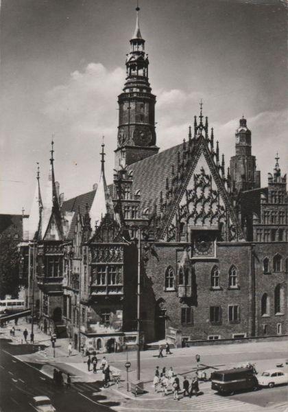 Polen - Polen - Wroclaw - Breslau - das gotische Rathaus - 1977