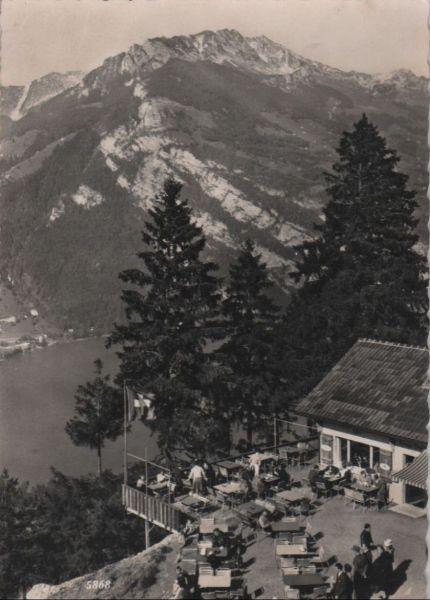 Schweiz - Schweiz - Filzbach - Cafe Kerenzer Berghus - ca. 1960