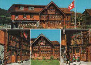 Schweiz - Schweiz - Appenzell - Bemaltes Haus des Glockengießers - 1981