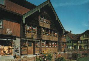 Schweiz - Schweiz - Appenzell - Bemaltes Haus des Glockensattlers - 1981