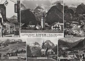 Österreich - Österreich - Lofer - u.a. Loferer Alm - 1965
