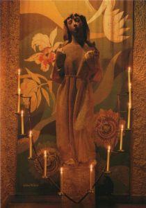 Schweiz - Schweiz - Windisch - Marienkirche, Madonna mit dem Schleier - ca. 1980