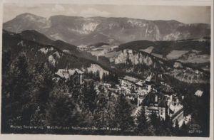 Österreich - Österreich - Semmering - Waldhof und Südbahn-Hotel - 1930