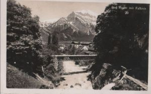 Schweiz - Schweiz - Bad Ragaz - mit Falknis - 1935