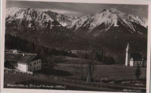 Österreich - Österreich - Telfs-Mösern - Blick auf Hocheder - ca. 1960