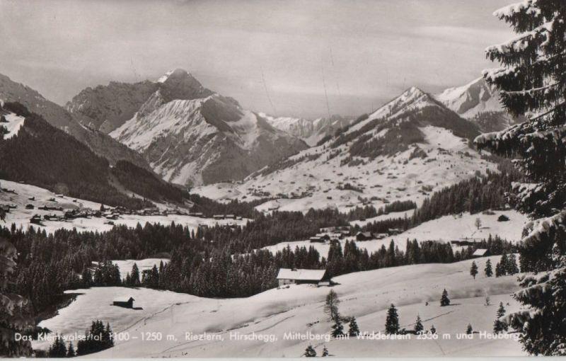 Österreich - Österreich - Riezlern - Hirschegg - Mittelberg - 1958