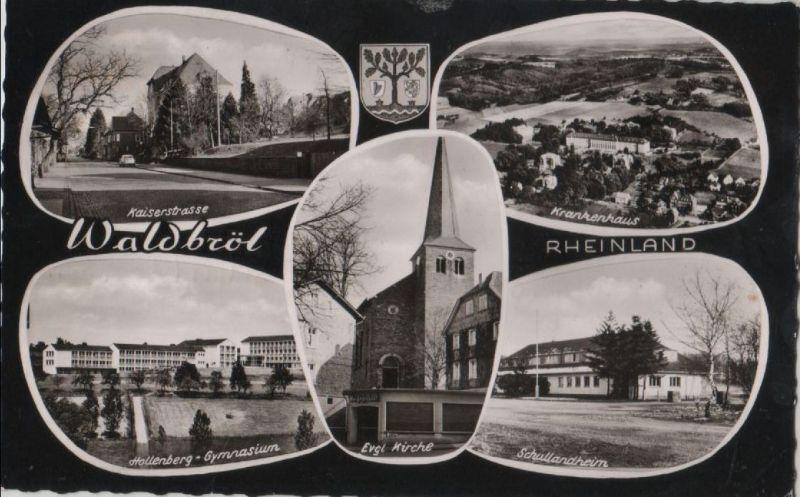 Waldbröl - u.a. Schullandheim - 1962