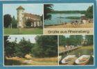 Rheinsberg - u.a. Bootshafen - 1989