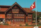 Schweiz - Schweiz - Appenzell - Bemaltes Haus des Glockensattlers - ca. 1980