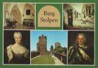 Stolpen - Burg, u.a. Burghof mit Johannisturm - 1986