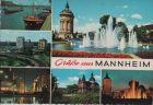 Mannheim - 6 Teilbilder - 1967