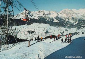 Schweiz - Schweiz - Unterwasser - Chäserruggbahn - ca. 1985