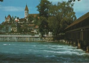 Schweiz - Schweiz - Thun - Schloss und Stadtkirche - ca. 1980