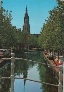 Niederlande - Niederlande - Delft - Oosteinde met gezicht op Nieuwe Kerk - 1986