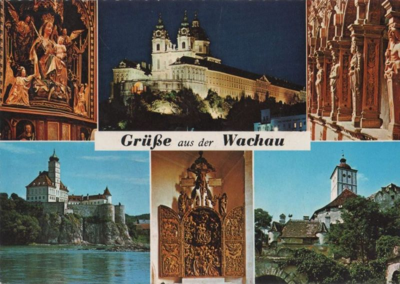 Österreich - Österreich - Wachau - u.a. Schallaburg - 1976