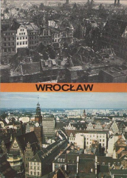 Polen - Polen - Wroclaw - Breslau - 2 Teilbilder - 1988