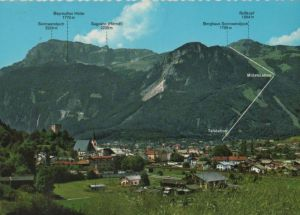 Österreich - Österreich - Rattenberg - mit Sonnwendjoch-Bergbahn - 1974