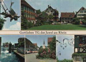 Schweiz - Schweiz - Gottlieben - 5 Teilbilder - ca. 1980