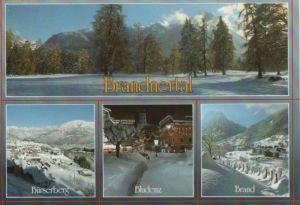 Österreich - Österreich - Bludenz - Brandnertal, u.a. Bürserberg - ca. 1995