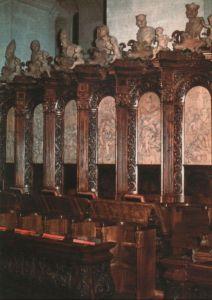Österreich - Österreich - Heiligenkreuz - Zisterzienser-Abtei, Chorgestühl - ca. 2000