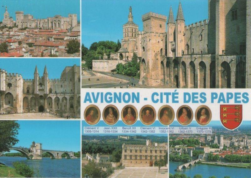 Frankreich Frankreich Avignon 6 Bilder Karte 2014 Nr