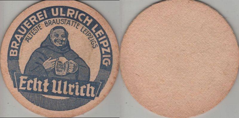 Bierdeckel rund - Ulrich, Leipzig