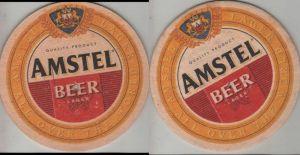 Bierdeckel rund - Amstel
