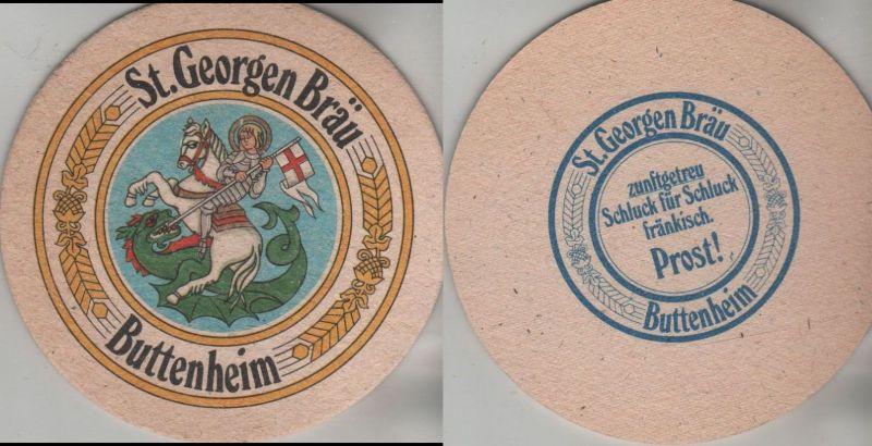 Bierdeckel rund - St. Georgen Bräu, Buttenheim