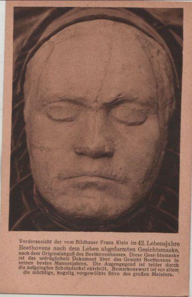 Gesichtsmaske Beethoven
