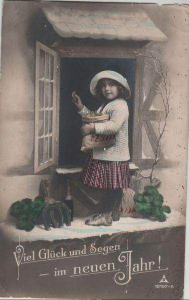 Glück und Segen im neuen Jahr Nr. 0096887 - oldthing: Glückwunsch ...
