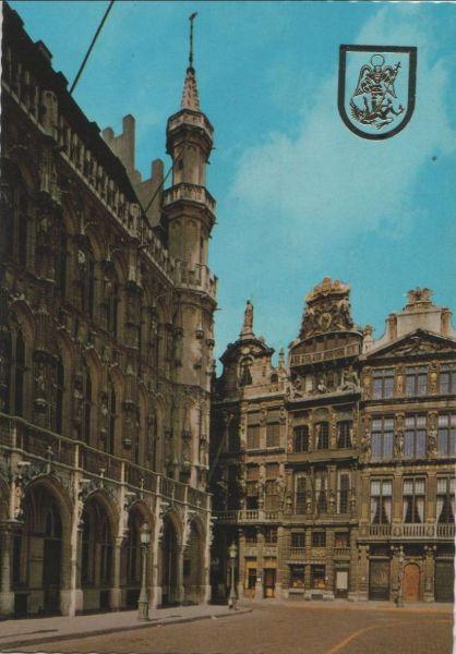 Belgien - Belgien - Brüssel - Bruxelles - Un coin de la Grand Place - ca. 1980