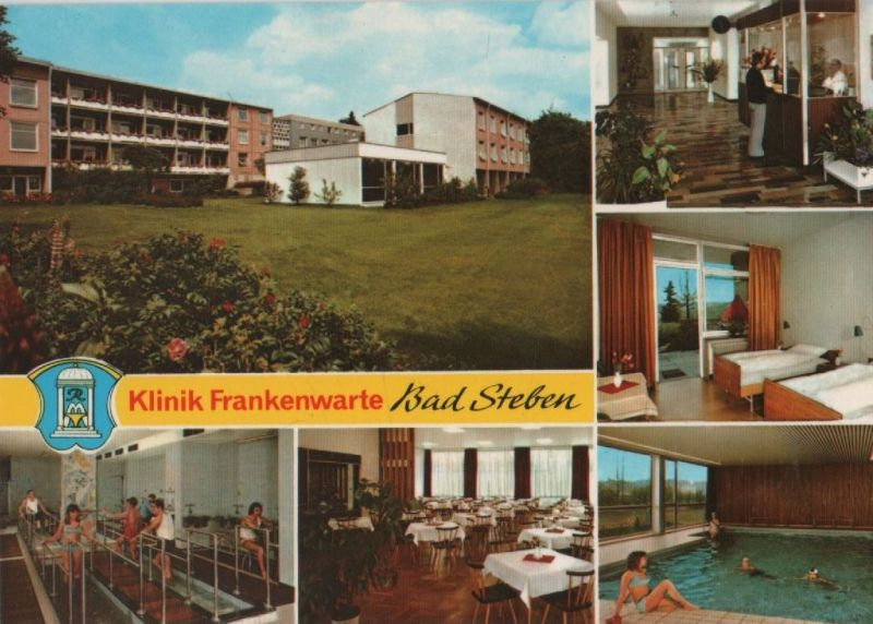 Bad Steben - Klinik Frankenwarte - ca. 1975 0