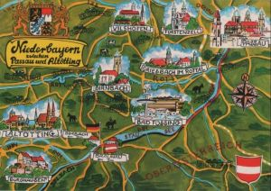 Niederbayern - zwischen Passau und Altötting - ca. 1985 0