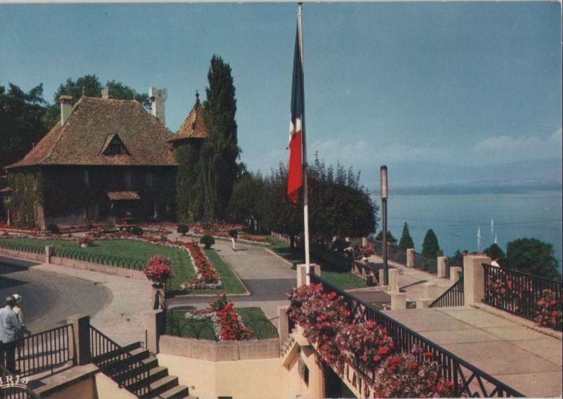 Frankreich - Frankreich - Thonon-les-Bains - et le Chateau de Sonnas - ca. 1980 0