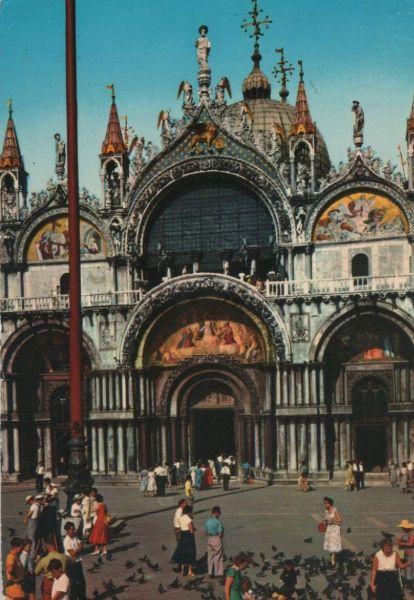 Italien - Italien - Venedig - Particolare della Basilica di S. Marco - 1973 0