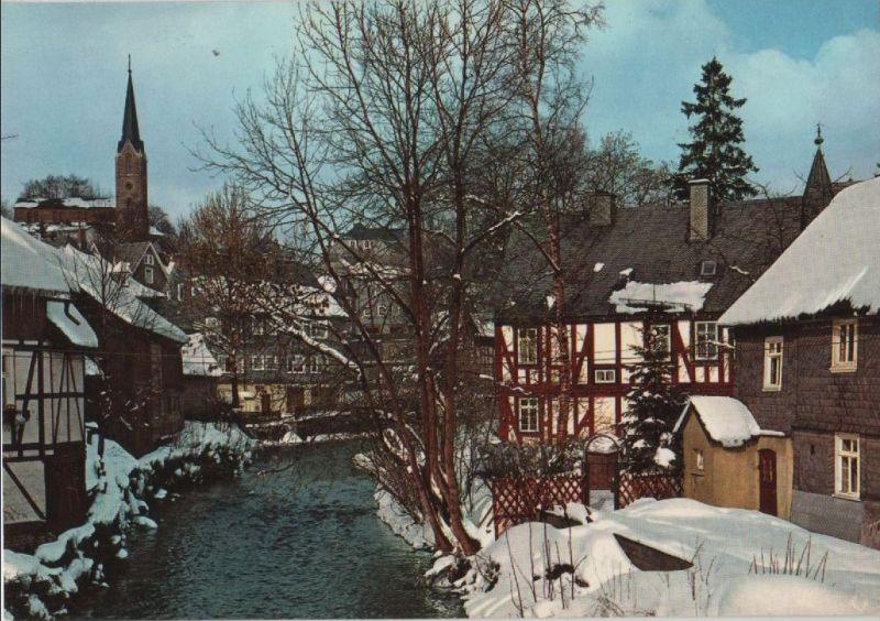 Bad Berleburg - Partie an der Odeborn - ca. 1980 0