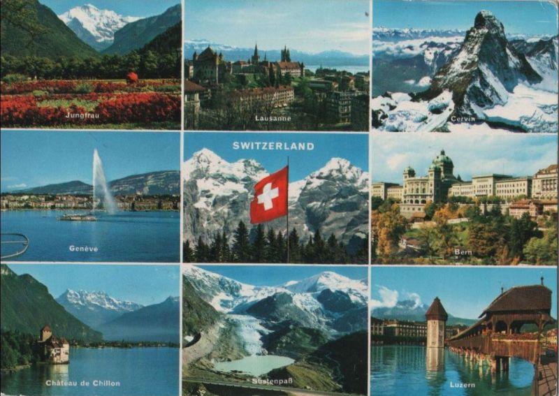 Schweiz - Schweiz - Schweiz - u.a. Lausanne - 1968