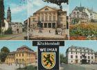 Weimar - u.a. Platz der Demokratie - 1989