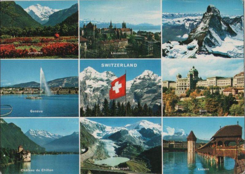 Schweiz - Schweiz - Schweiz - u.a. Cervin - 1968