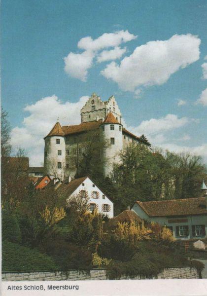 meersburg altes schloss nr 0107293 oldthing ansichtskarten deutschland plz 80 89. Black Bedroom Furniture Sets. Home Design Ideas