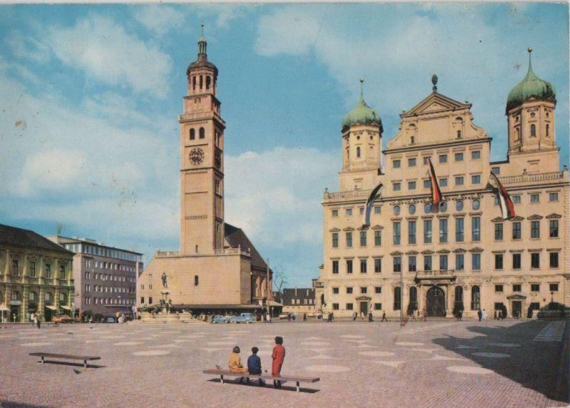 Augsburg - Rathaus mit Perlach