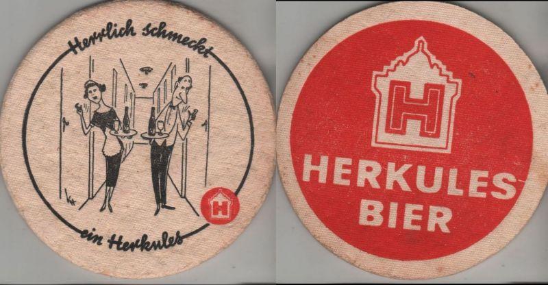 Bierdeckel rund - Herkules
