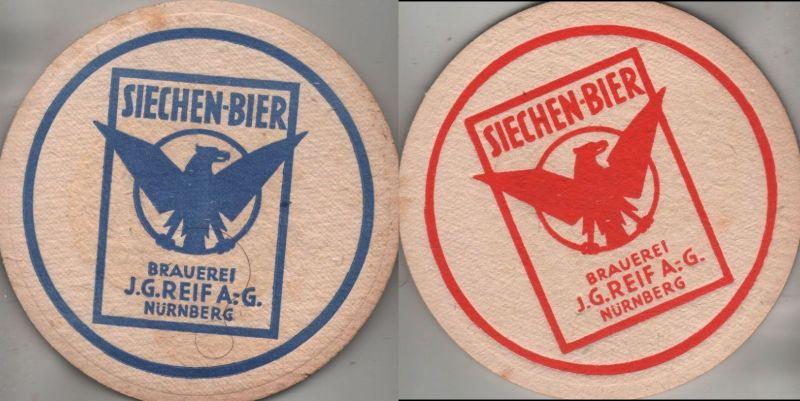 Bierdeckel rund - Siechen-Bier