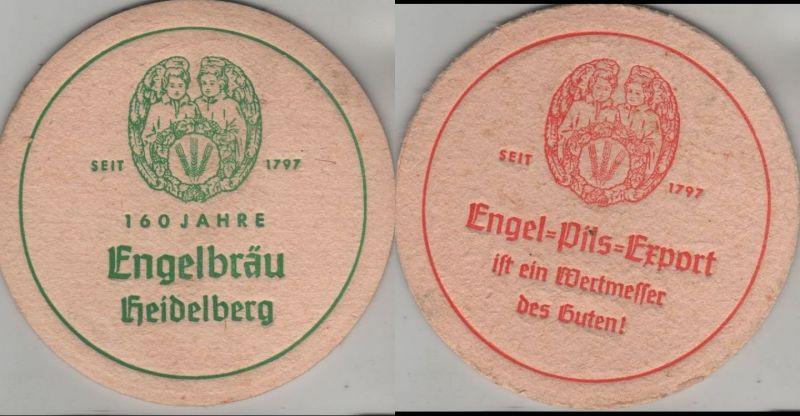 Bierdeckel rund - Engel-Bräu