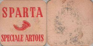 Bierdeckel quadratisch - Sparta